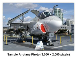 Sample Airplane Photo