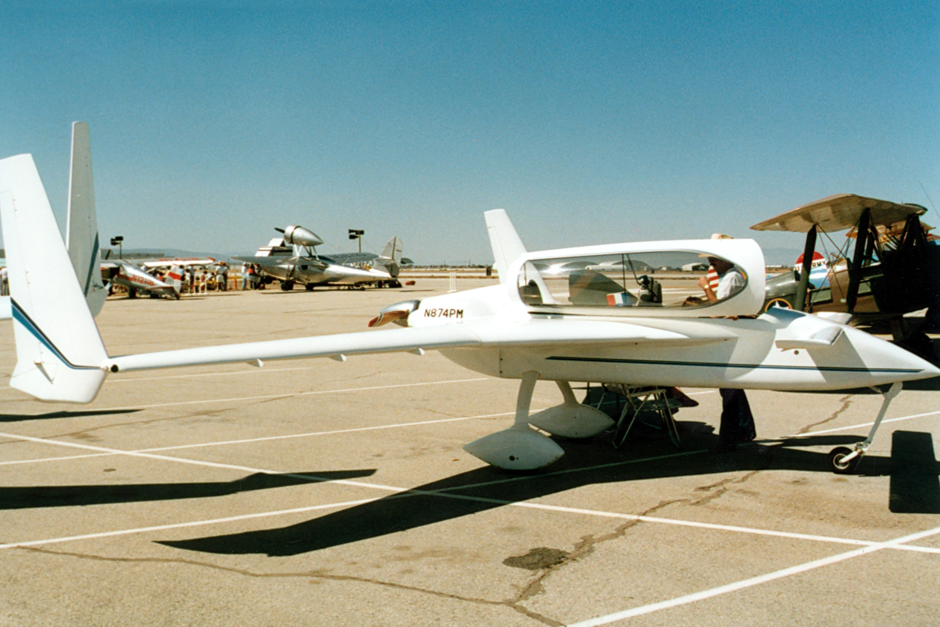 Rutan long ez specifications and photos