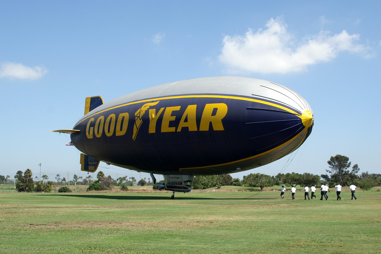 Goodyear Aerospace Gz 20a Blimp N10a The Spirit Of America