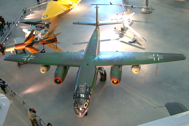 Arado Ar 234b Blitz German Twin Engine Jet Bomber