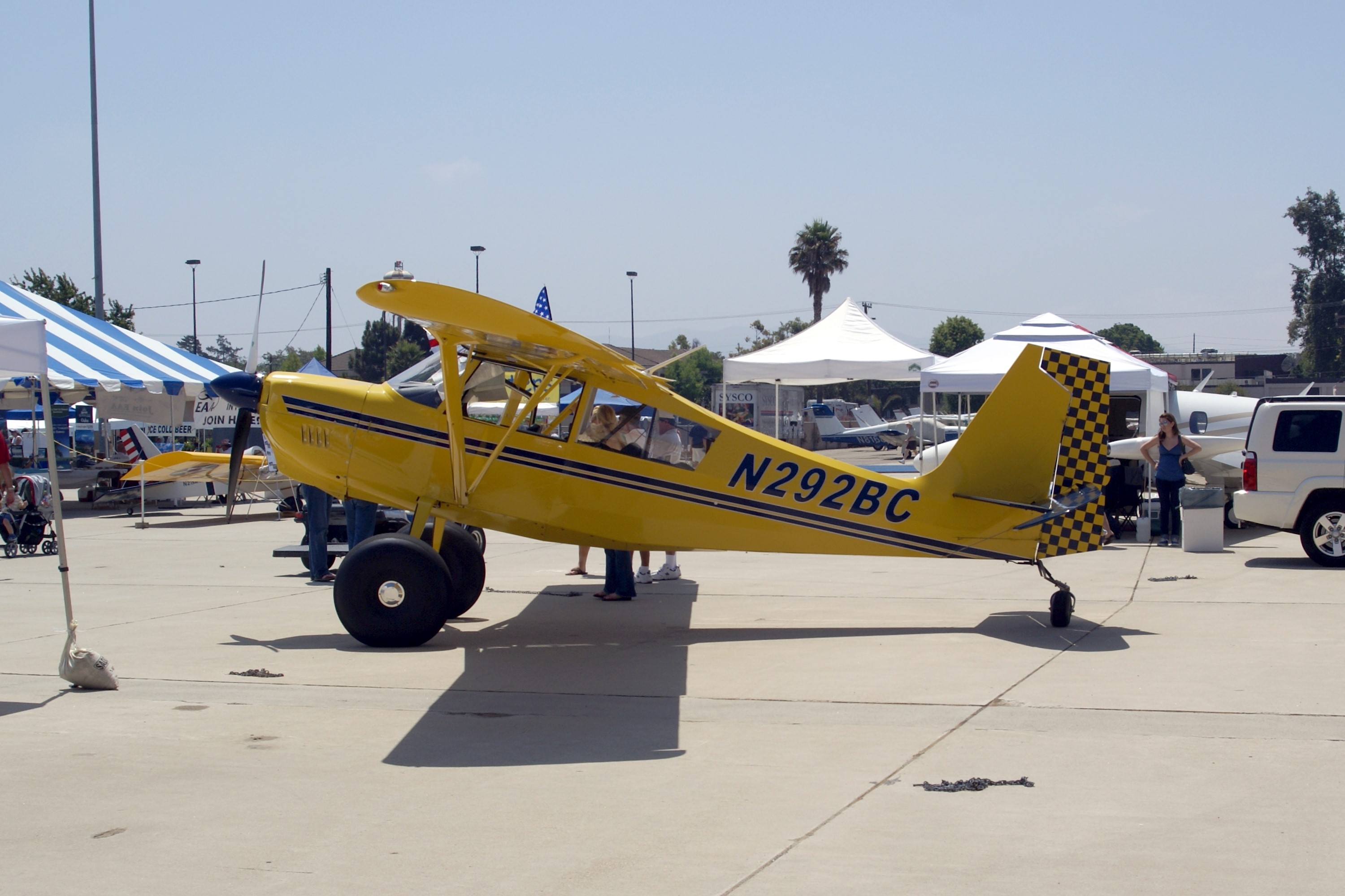 Aircraft G-IIIJ (2010 American Champion 8GCBC Scout Scout
