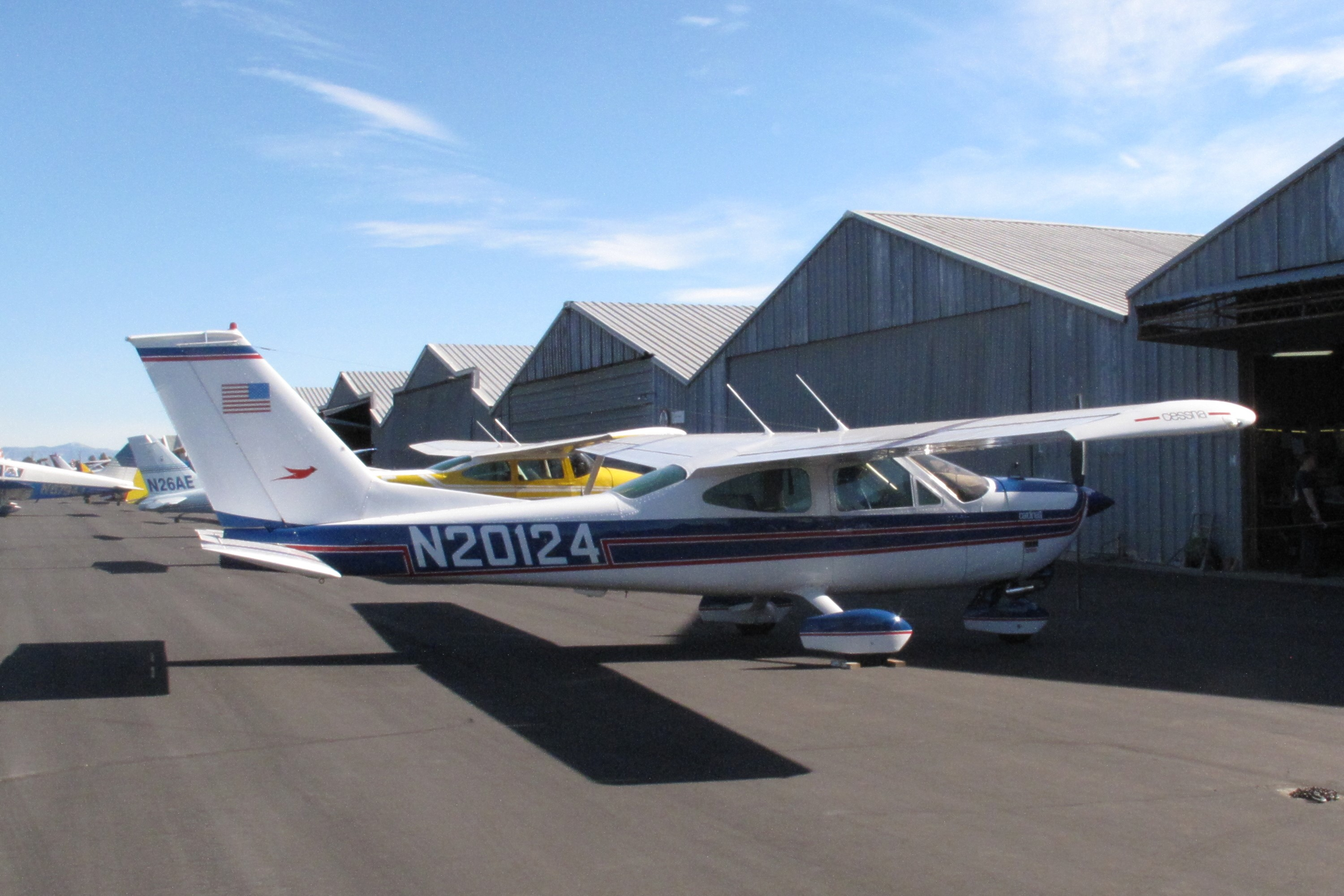 Cessna 177b Cardinal Single Engine Four Seat Tricycle Gear Cantilever High Wing Cabin Monoplane U S A