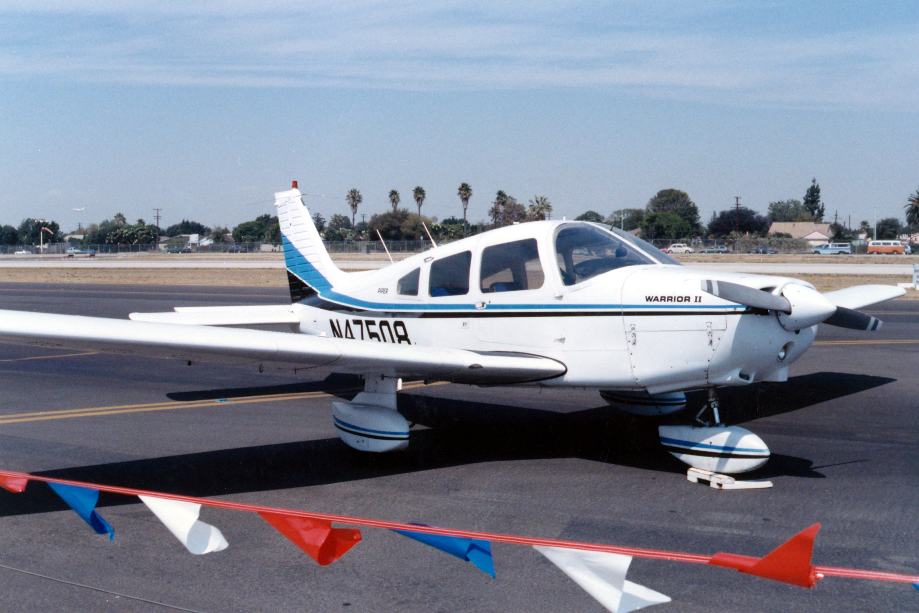 Piper PA-28-161 Warrior II four-seat low-wing monoplane