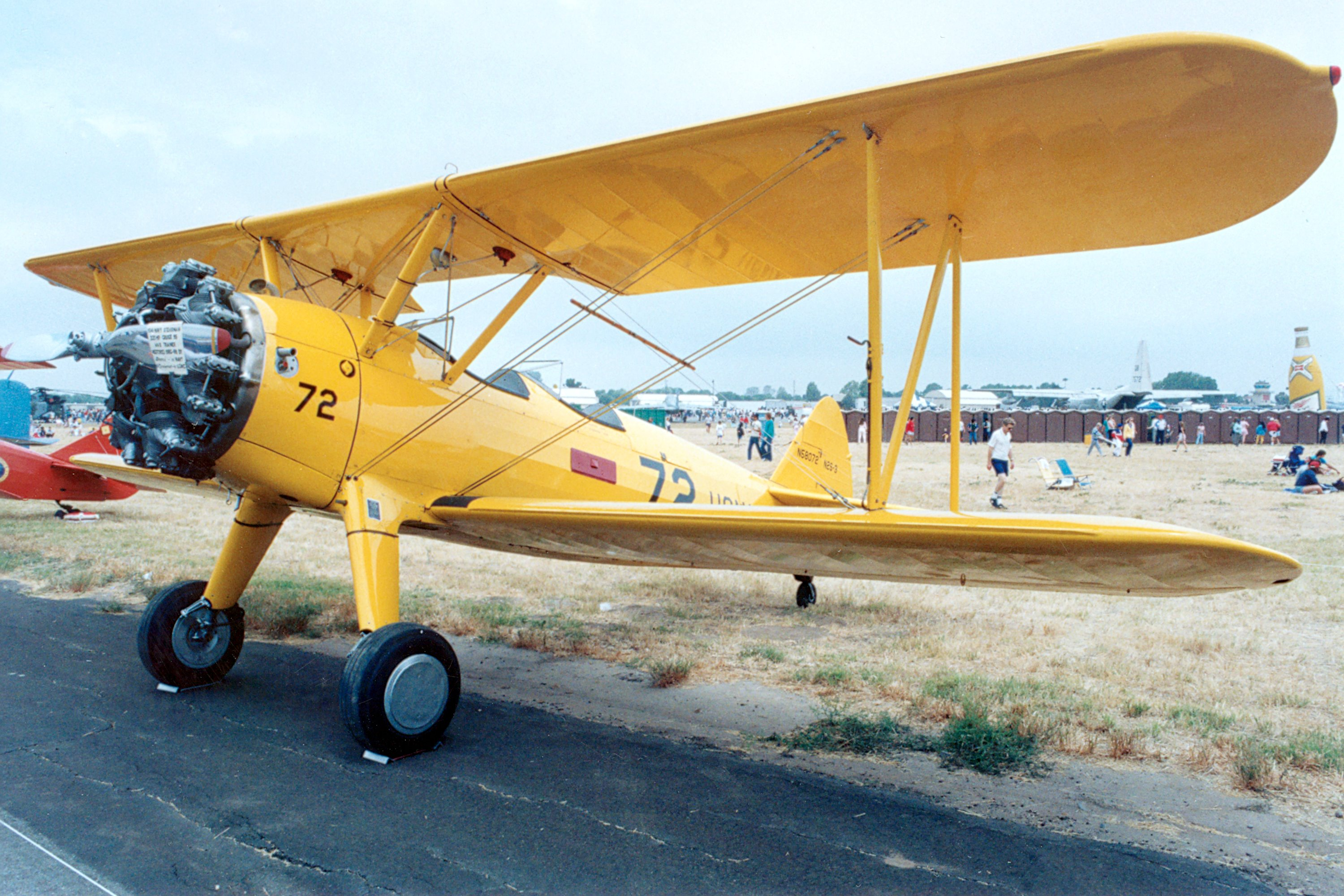 Boeing-Stearman N2S-3 Kaydet specifications and photos