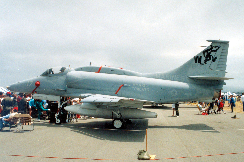 McDonnell Douglas A-4A-l Skyhawk in USN, USMC, RAN, RNZAF Service