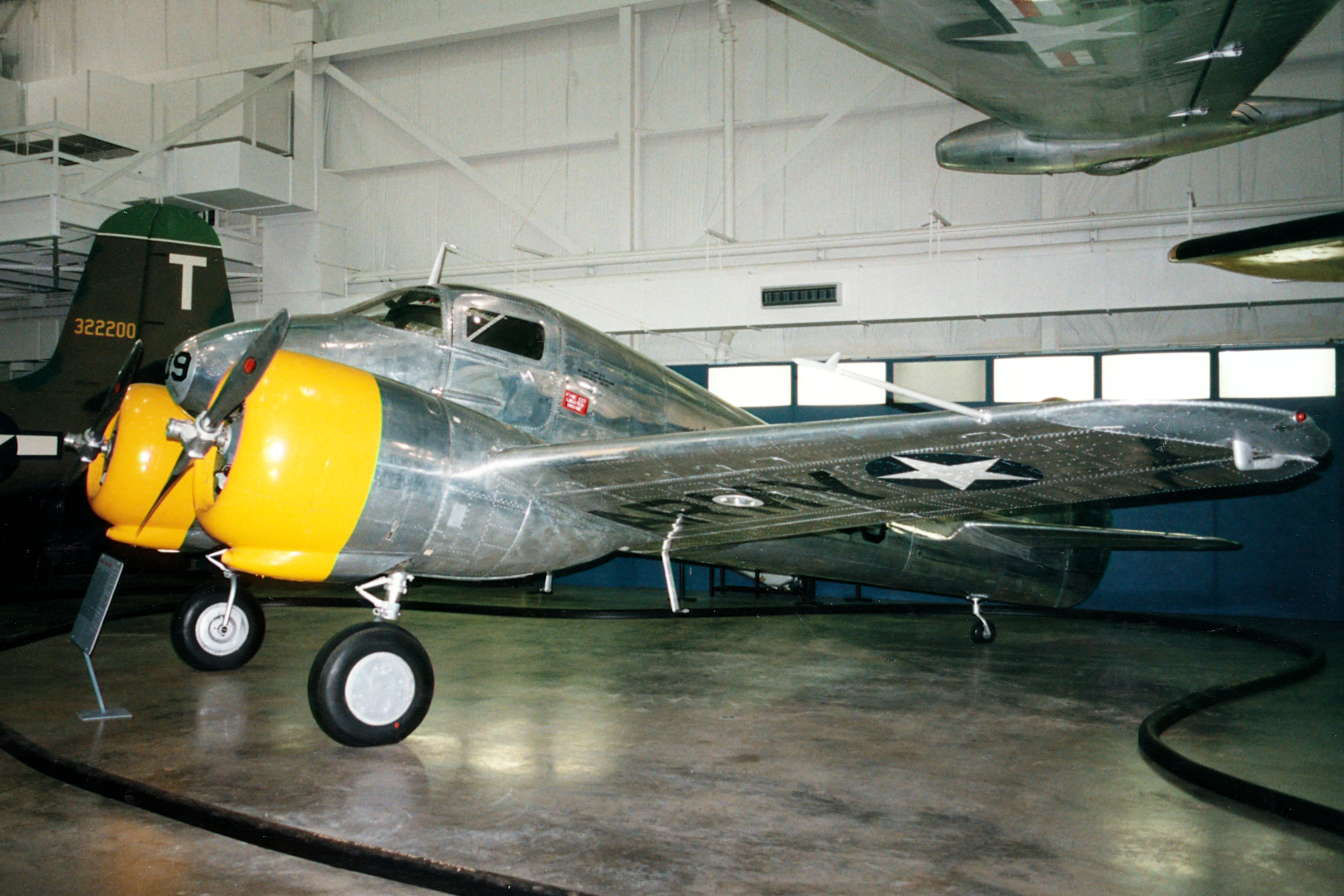 Curtiss-Wright AT-9A Fledgling World War II Twin-engine Trainer