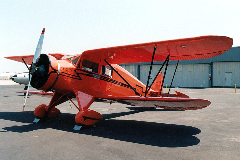 1933 Waco Uec Single Engine Four Seat Cabin Biplane