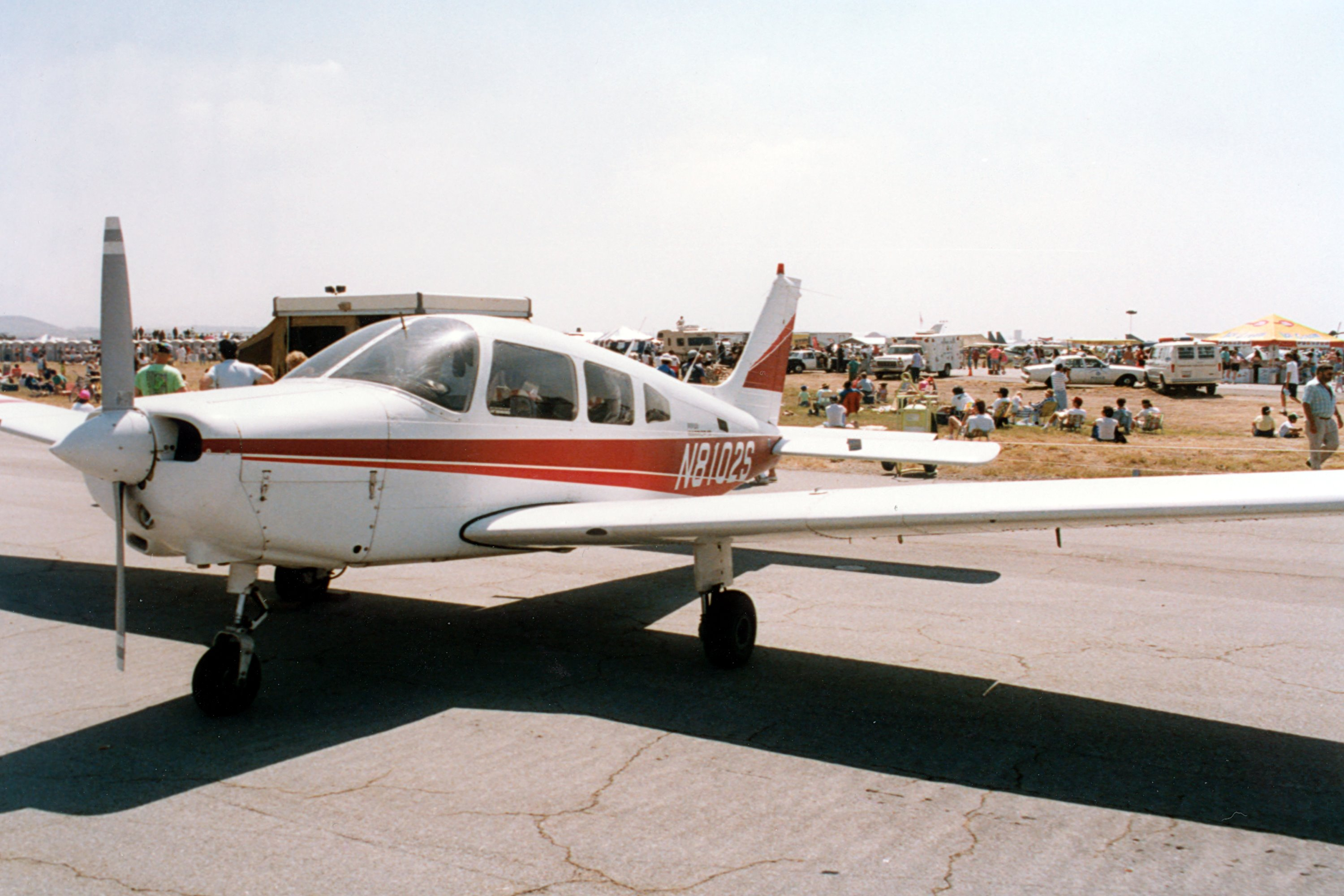 Piper Pa 28 161 Warrior Ii Four Seat Low Wing Monoplane