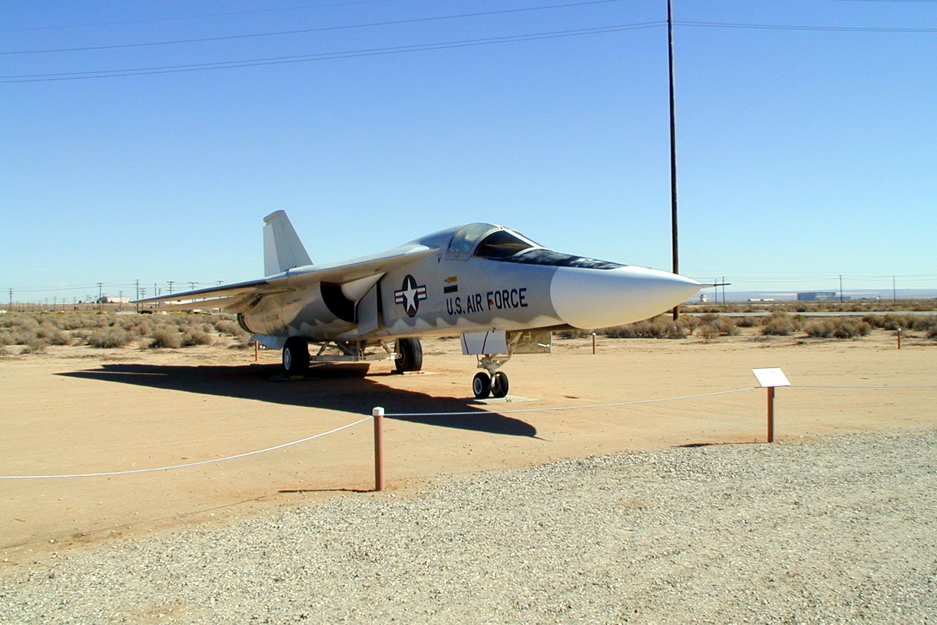 General Dynamics F-111A Aardvark tactical strike fighter ...