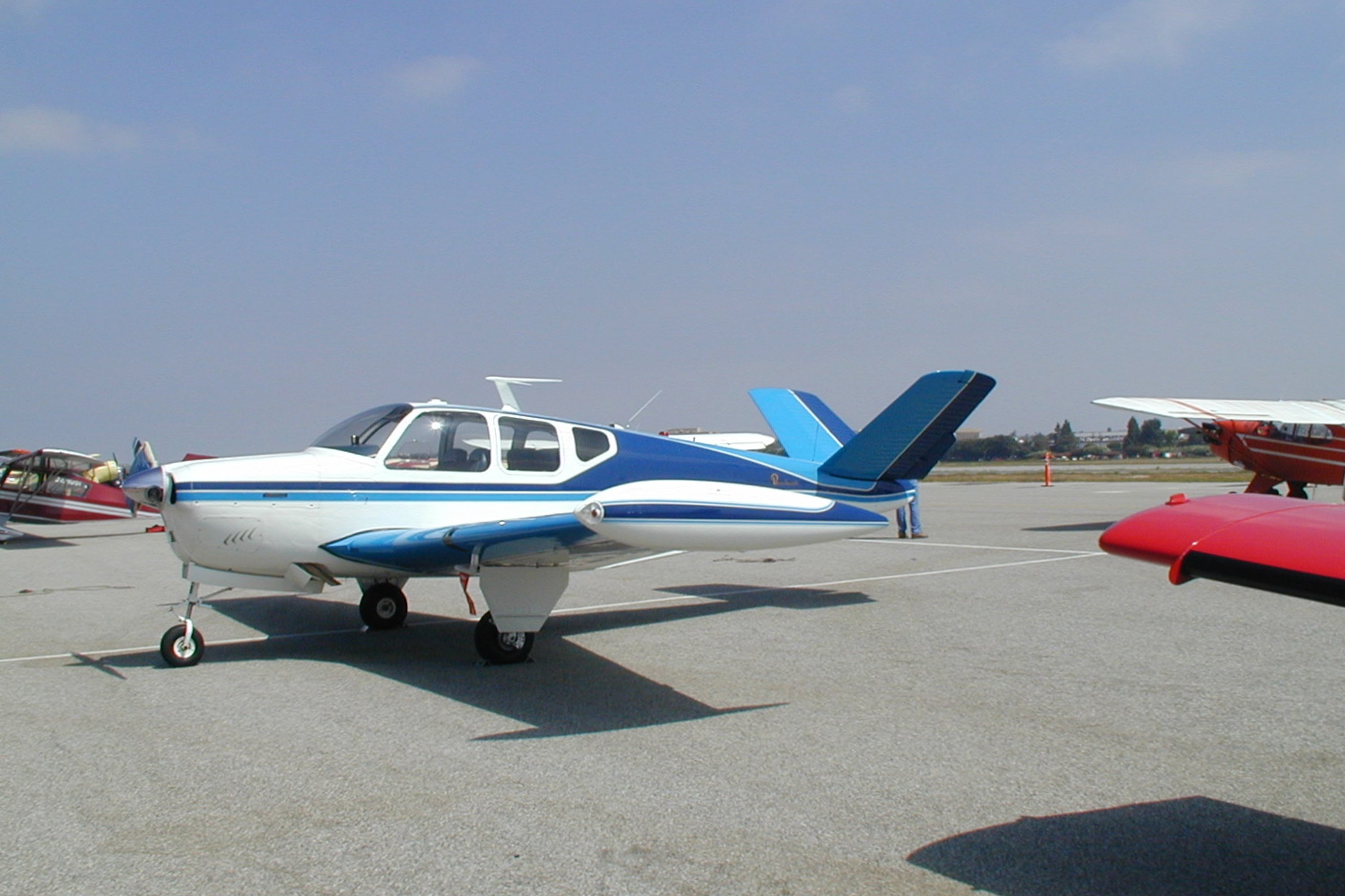 Image result for beechcraft bonanza""