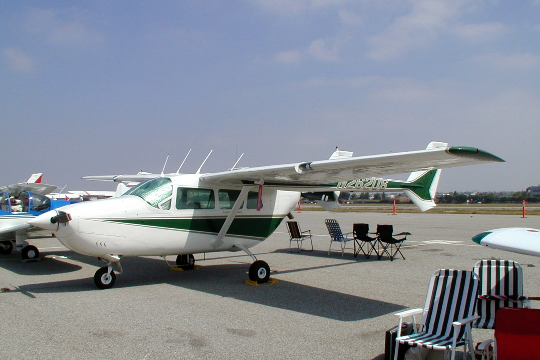 Cessna T337C Turbo Super Skymaster, Twin-engine push-pull twin-boom
