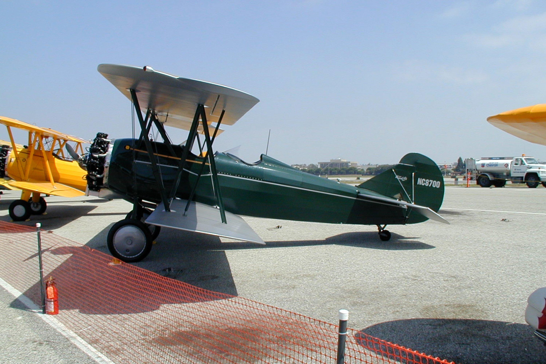 Curtiss-Wright Travel Air 4000 single-engine biplane