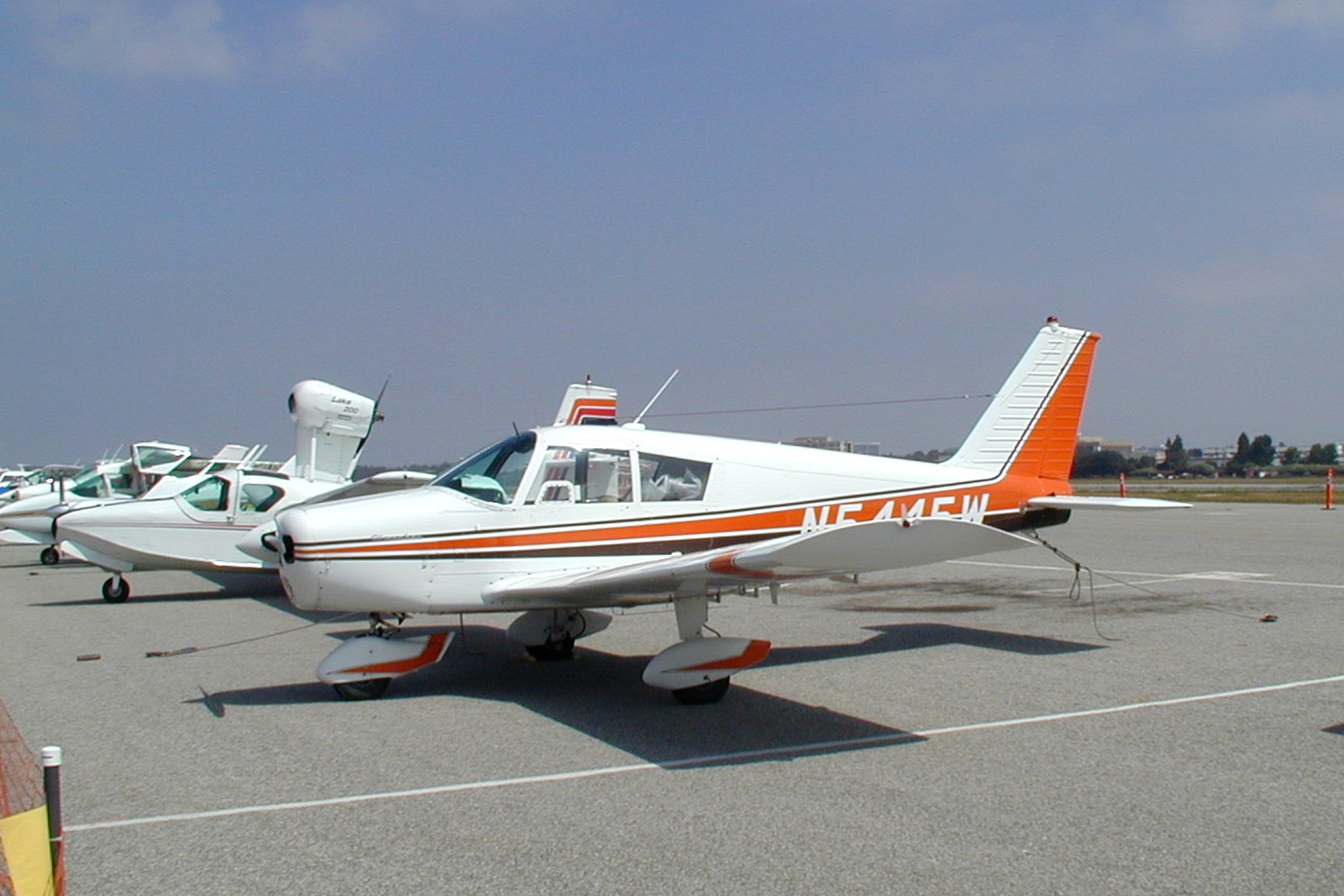 Piper PA-28-160 Cherokee 160 four-seat low-wing cabin monoplane