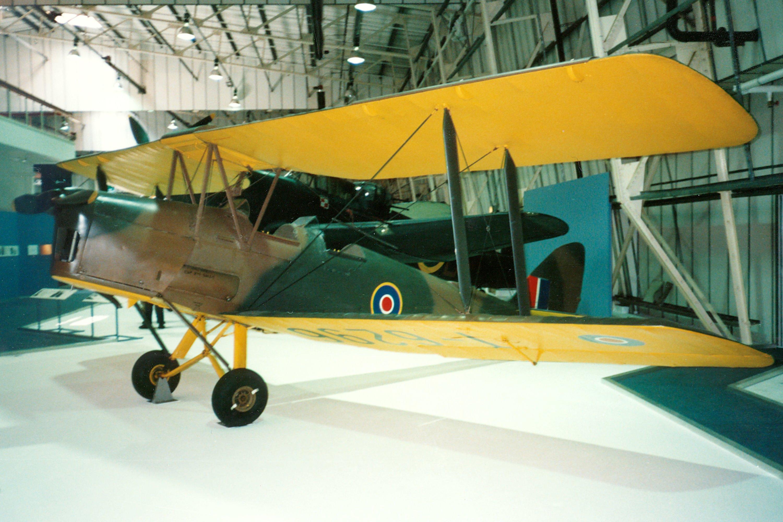 Aircraft VH-WFN (1942 De Havilland Australia DH-82A Tiger