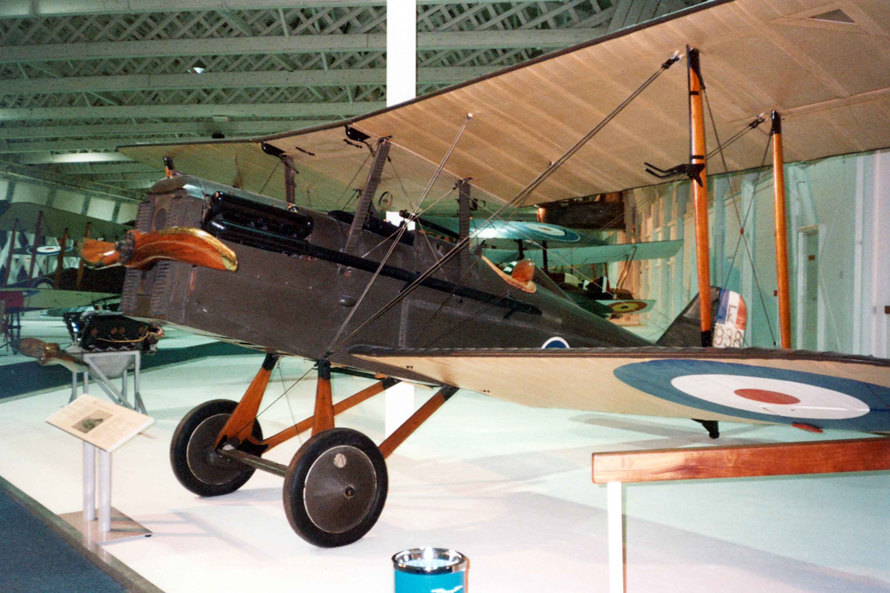 Royal Aircraft Factory S E 5a Specifications And Photos
