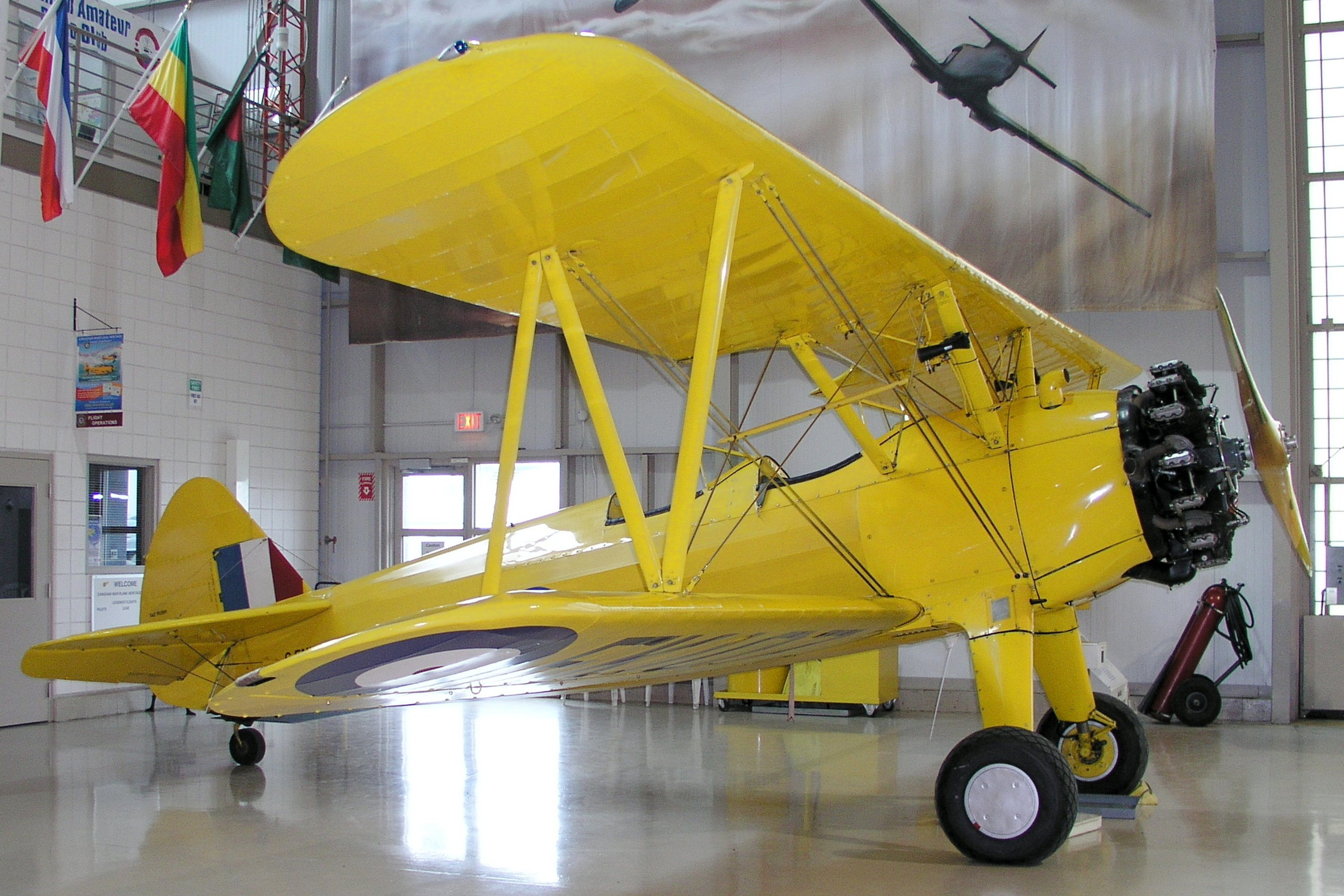 Boeing-Stearman PT-17 Kaydet specifications and photos