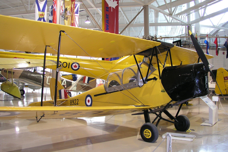 de Havilland DH-82A Tiger Moth II, Single-engine Two-seat