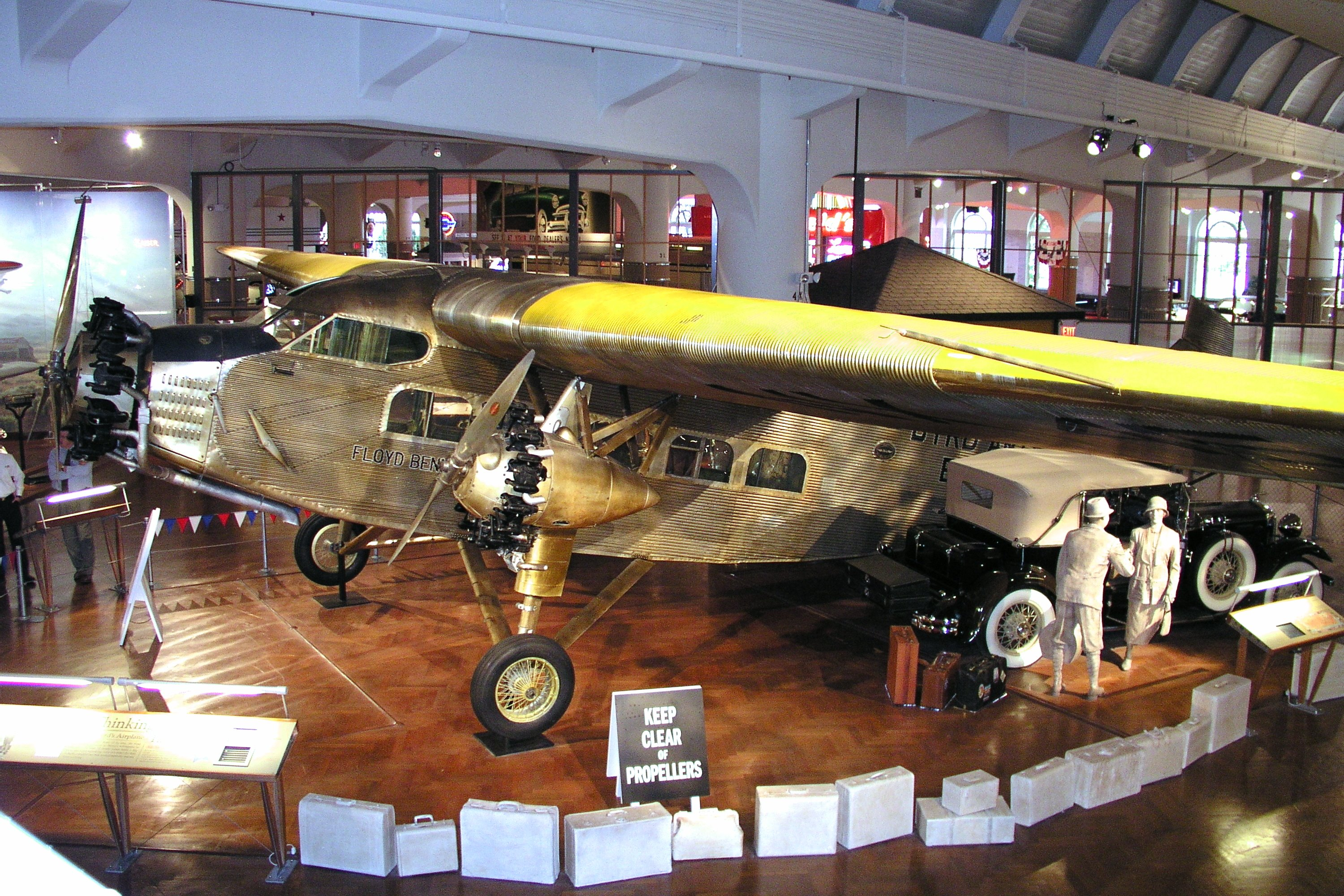 Ford 4 At B Trimotor Three Engine Passenger Utility Transport