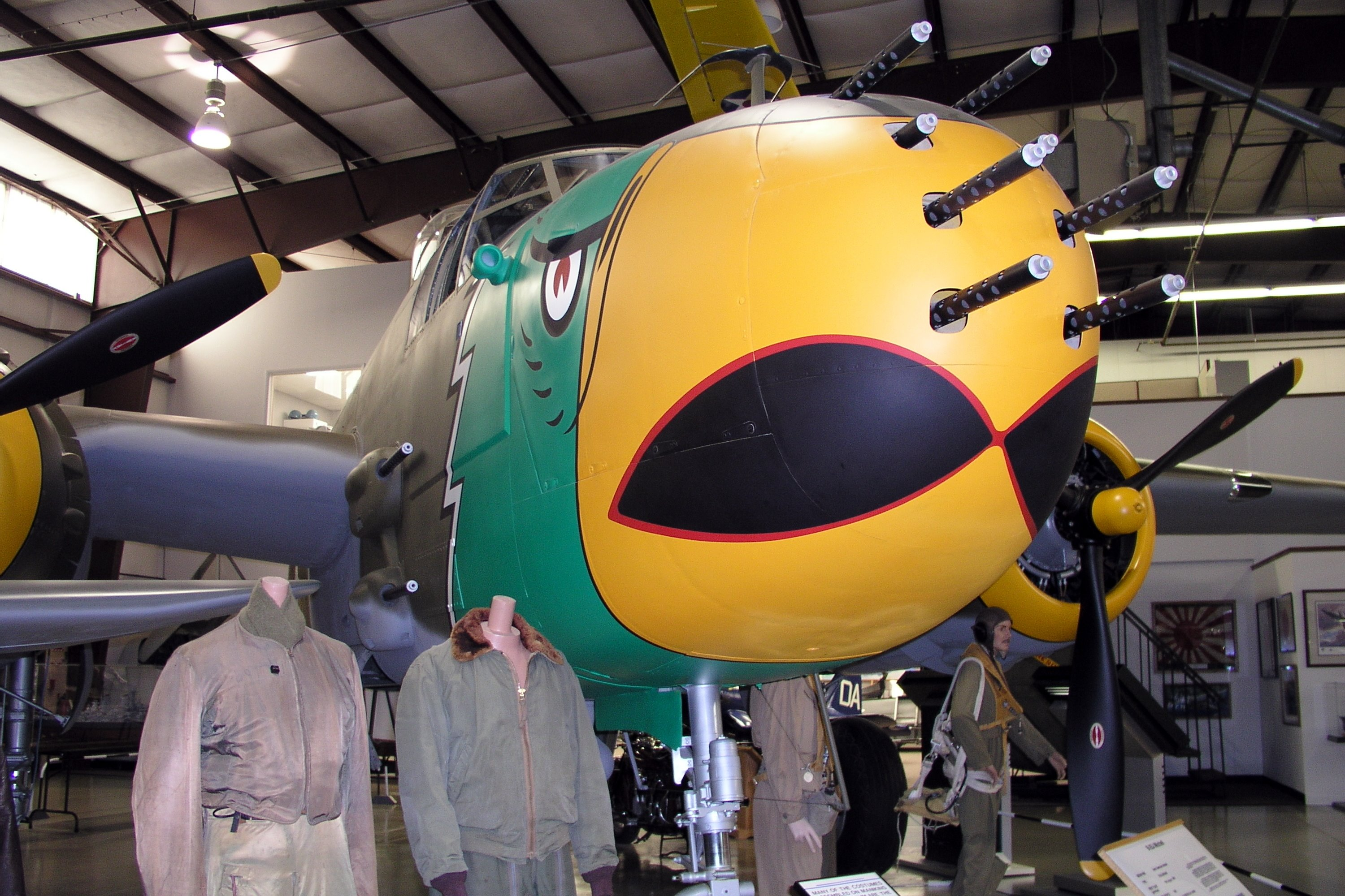 North American B 25h Mitchell Specifications And Photos 26 Marauder Engine Diagram 10 Na 98 Af 43 4899 C N 21900 N37l On Display 9 29 2003 At The Kalamazoo Aviation History Museum Portage
