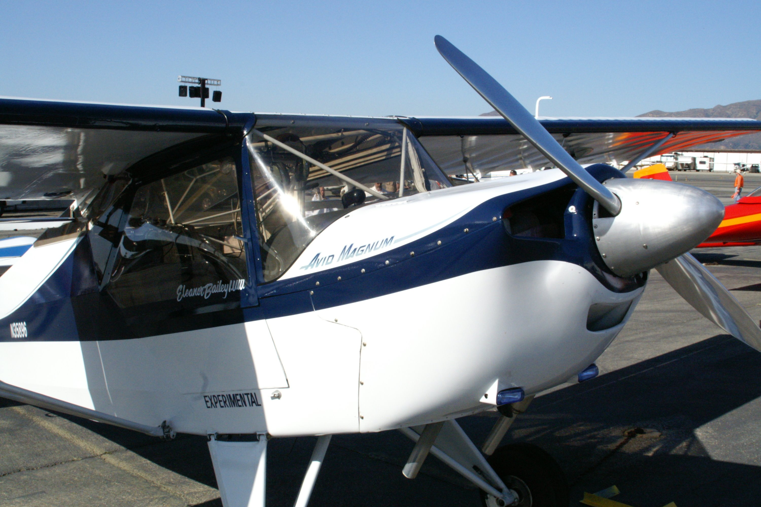 Avid Magnum Single Engine Two Seat High Wing Kit Built