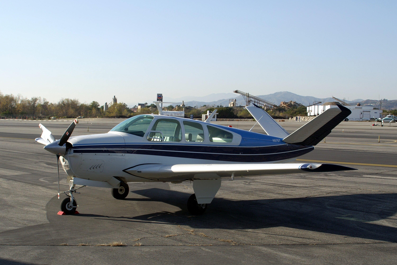 Beechcraft Bonanza Model S35 Four Six Seat Cabin Monoplane