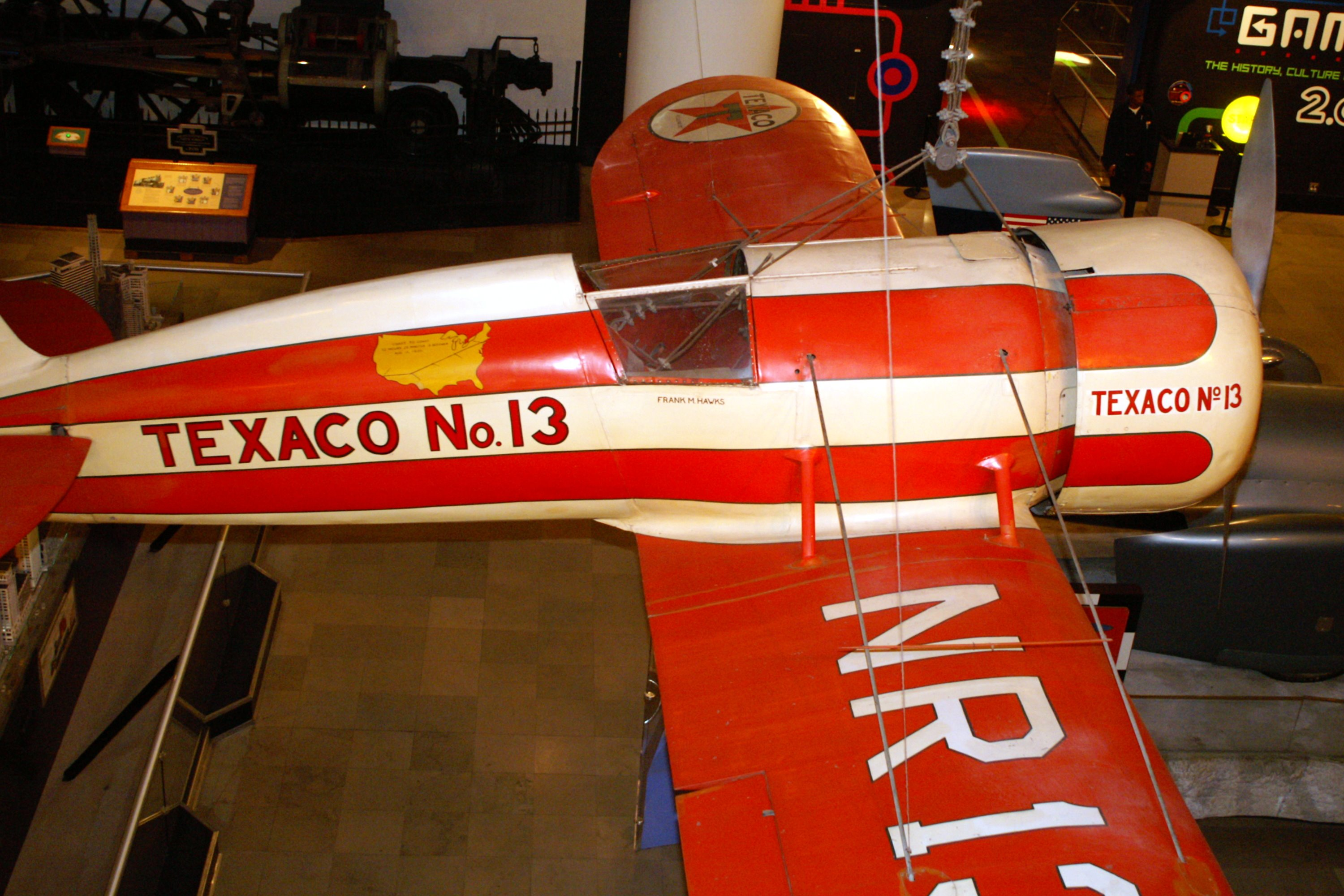 Travel Air Model R Mystery Ship (Texaco No  13, NR1313)