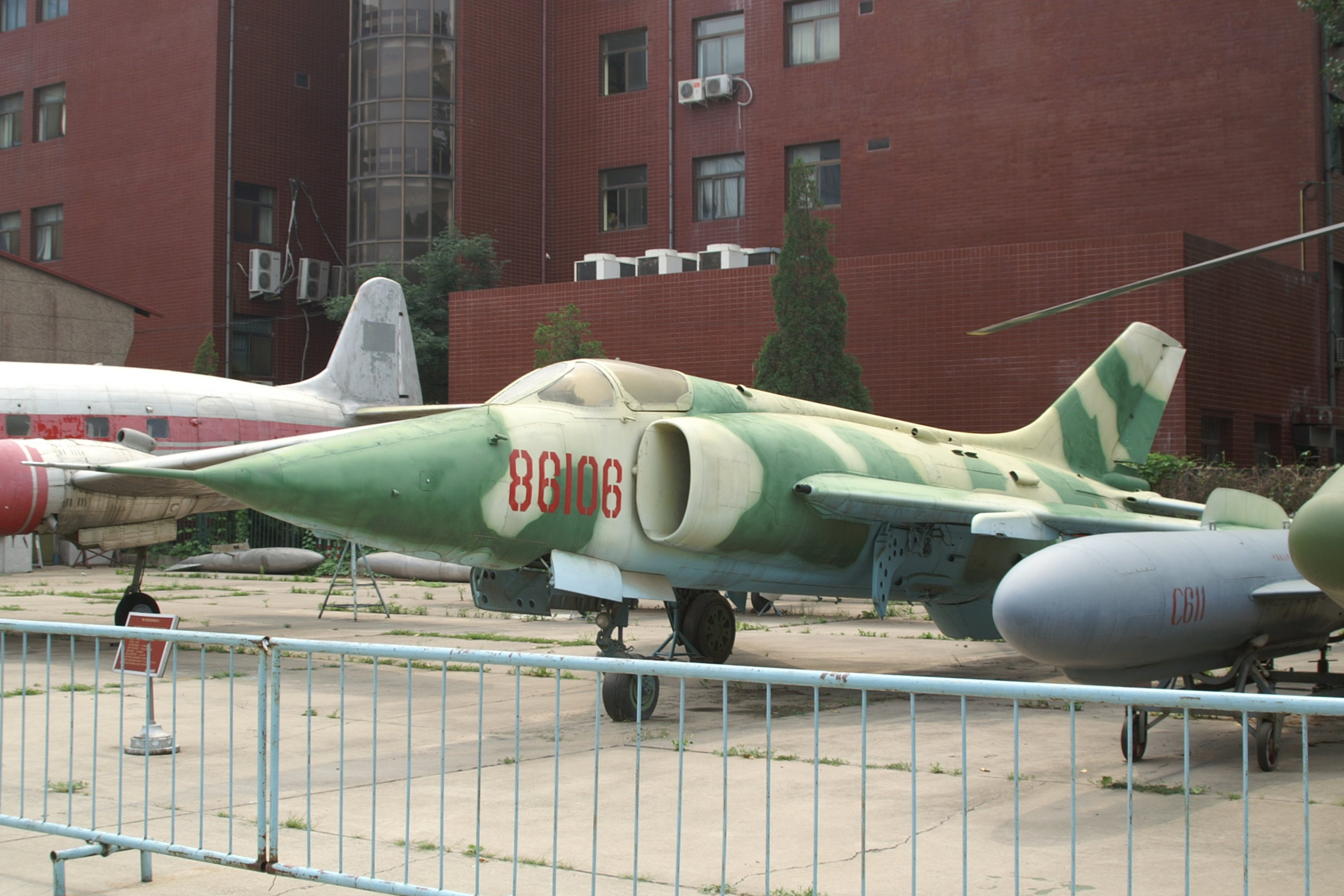 Nanchang Q-5 Fantan (s/n 86108) on display (7/2/2006) at the Beijing  Aviation Museum, Beijing University of Aeronautics and Astronautics,  Beijing, ...