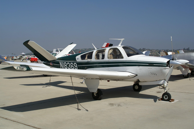 Beechcraft Bonanza V35B four/five-seat cabin monoplane