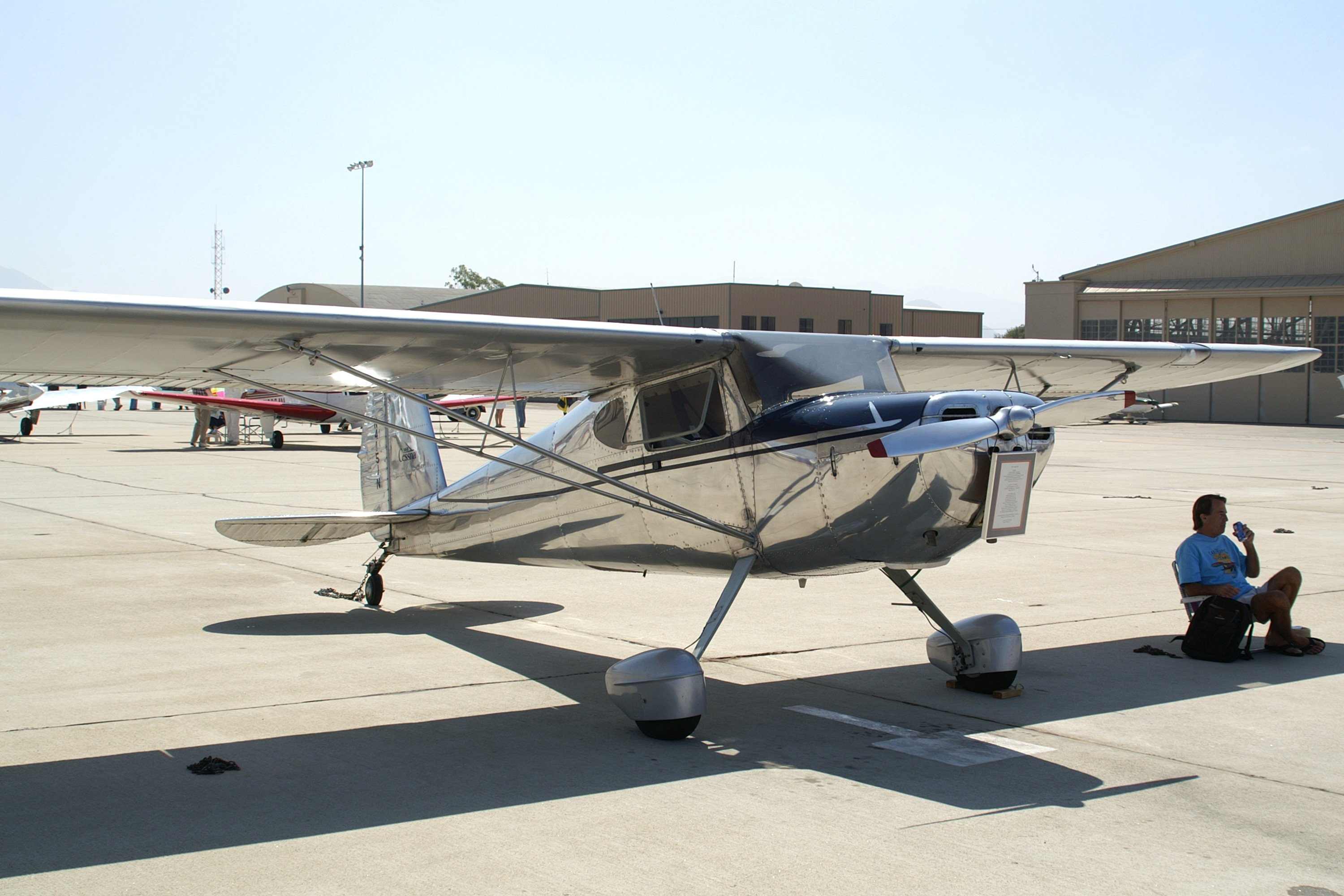 Cessna 140, Single-engine two-seat high-wing light cabin monoplane, USA