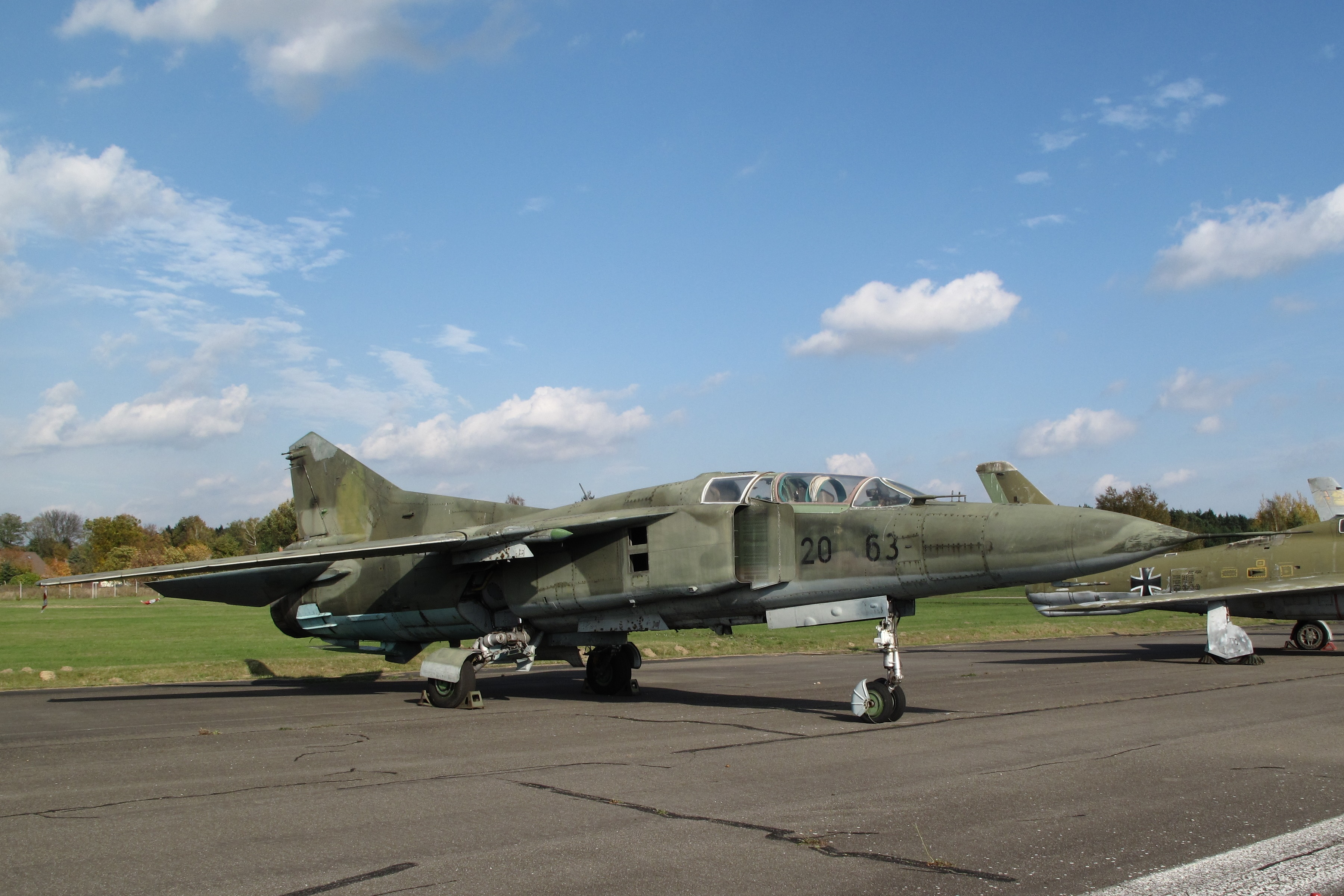 The collapse of the MiG-23 in Belgium in 1989 (4 phototext) 24Warez.Ru 65