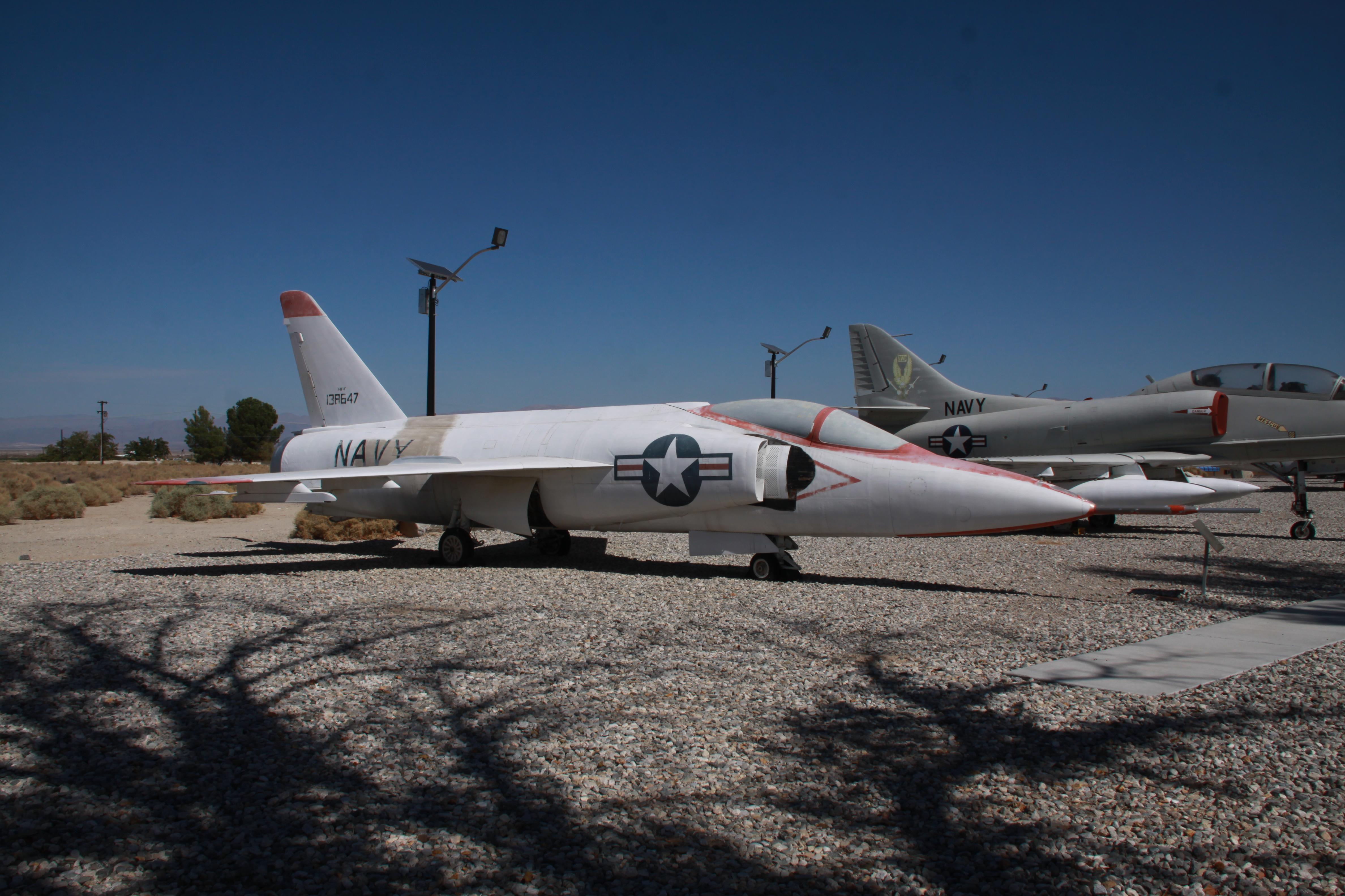 Grumman F11F-1F Super Tiger USN supersonic jet fighter