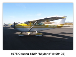 1975 Cessna 182P Skylane (N9910E, s/n 18263970) at the 2009 Cable Air Show, Cable Airport, Upland, CA