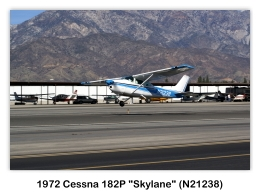 1972 Cessna 182P Skylane (N21238, s/n 18261508) at the 2009 Cable Air Show, Cable Airport, Upland, CA