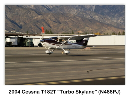 2004 Cessna T182T Turbo Skylane (N488PJ, s/n T18208333) at the 2009 Cable Air Show, Cable Airport, Upland, CA