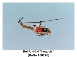 Bell UH-1N Iroquois (Huey) Six-seat Utility Helicopter