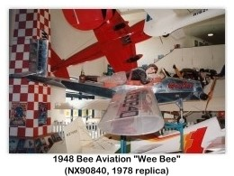 Bee Aviation Wee Bee (1948), NX90840, 1998 San Diego Aerospace Museum, San Diego, CA