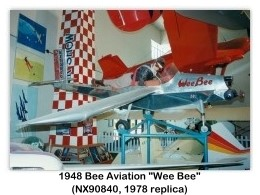 Bee Aviation Wee Bee (1948), NX90840, 1995 San Diego Aerospace Museum, San Diego, CA