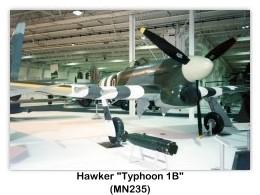 Hawker typhoon mkib specifications and photos hawker typhoon mk1b mn235 on display c1994 at the royal air force museum london hendon aerodrome london england united kingdom photo by john altavistaventures Choice Image