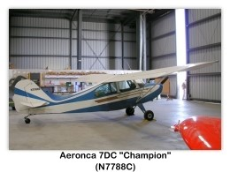 Aeronca 7DC Champion Single-engine Light Cabin Airplane