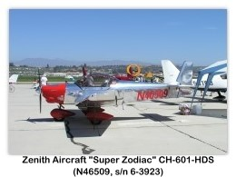 Zenith Super Zodiac CH-601-HDS Photos and Specifications