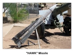 HAWK Missile,Museum and Grounds, Arizona Military Museum, 9/24/2011 (photo by AFIA)