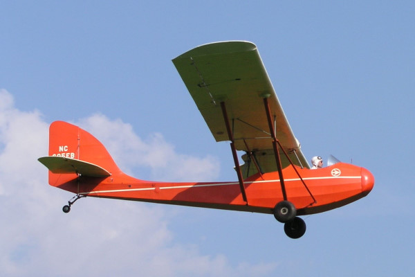 Curtiss-Wright Jr. CW-1, NC605EB