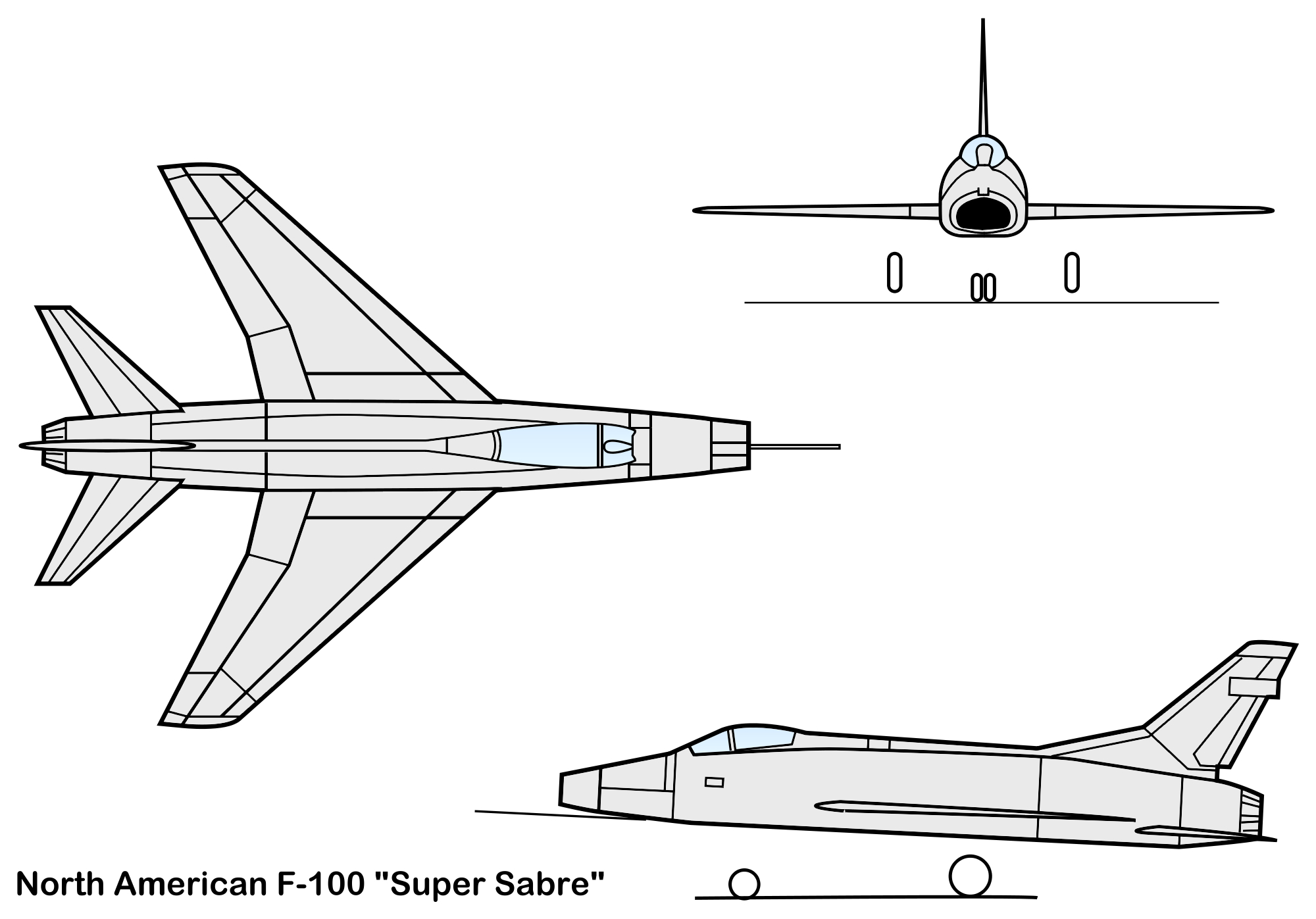 North American Yqf 100 Super Sabre Specifications And Photos