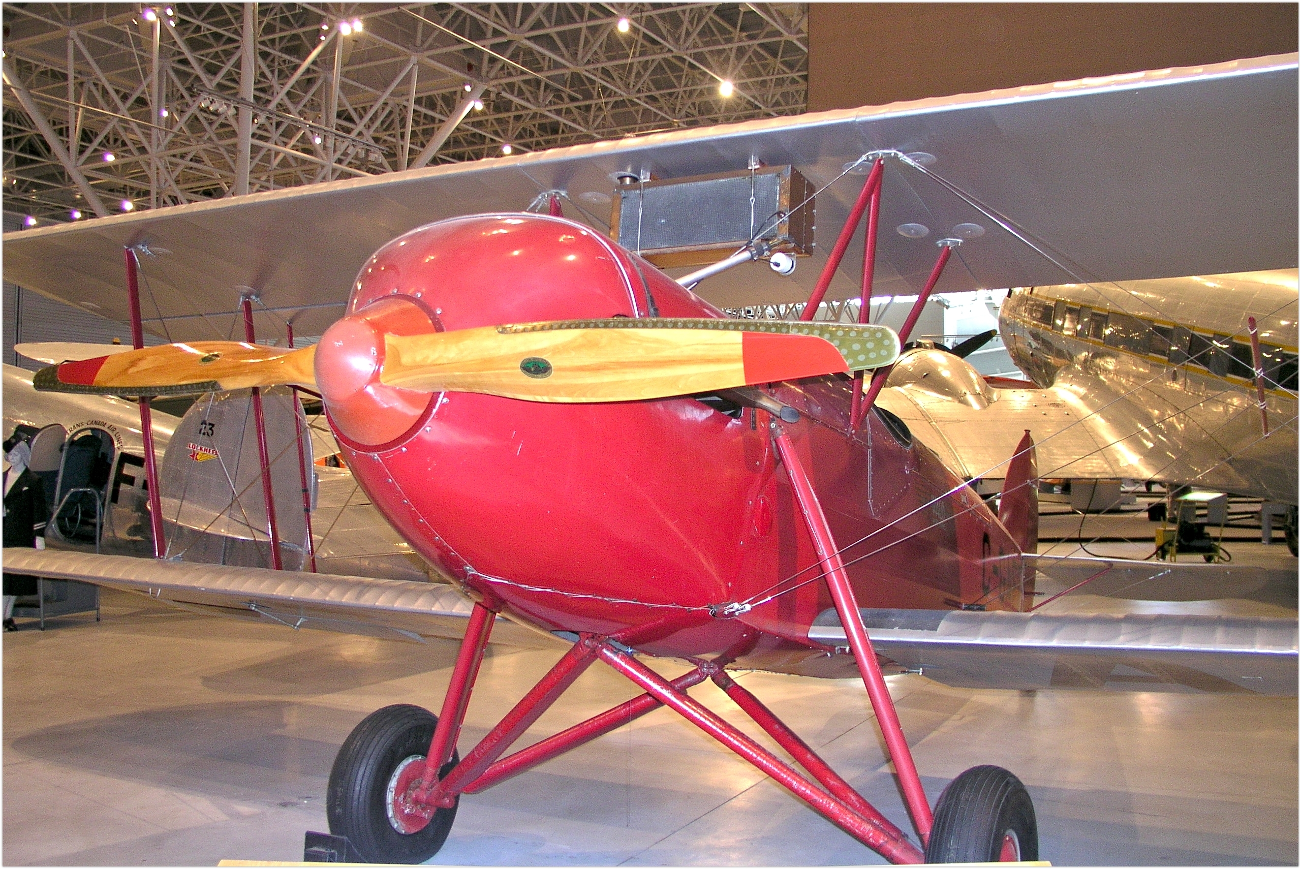 Waco Model 10 Single-engine two-seat biplane