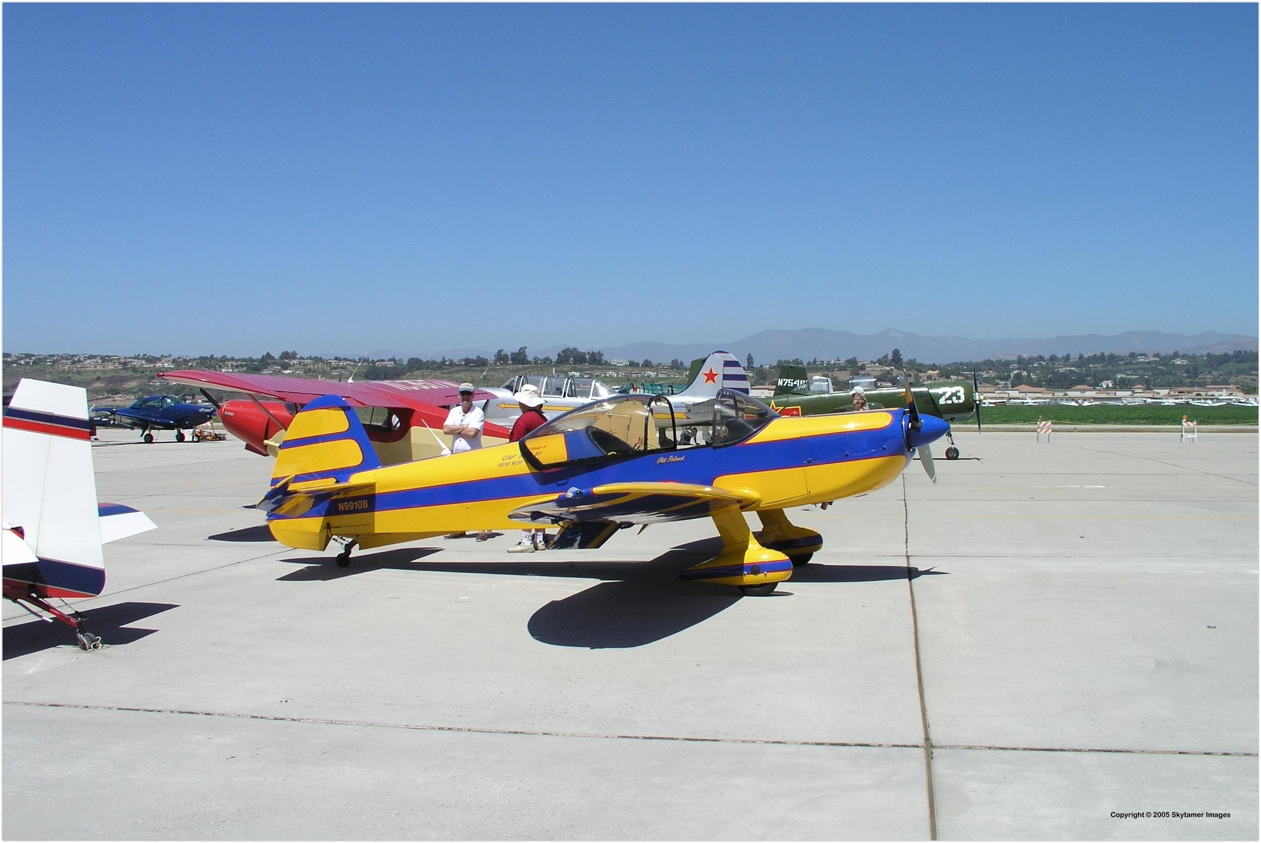 Avions Mudry CAP 10B, French Two-seat Aerobatic Light ...