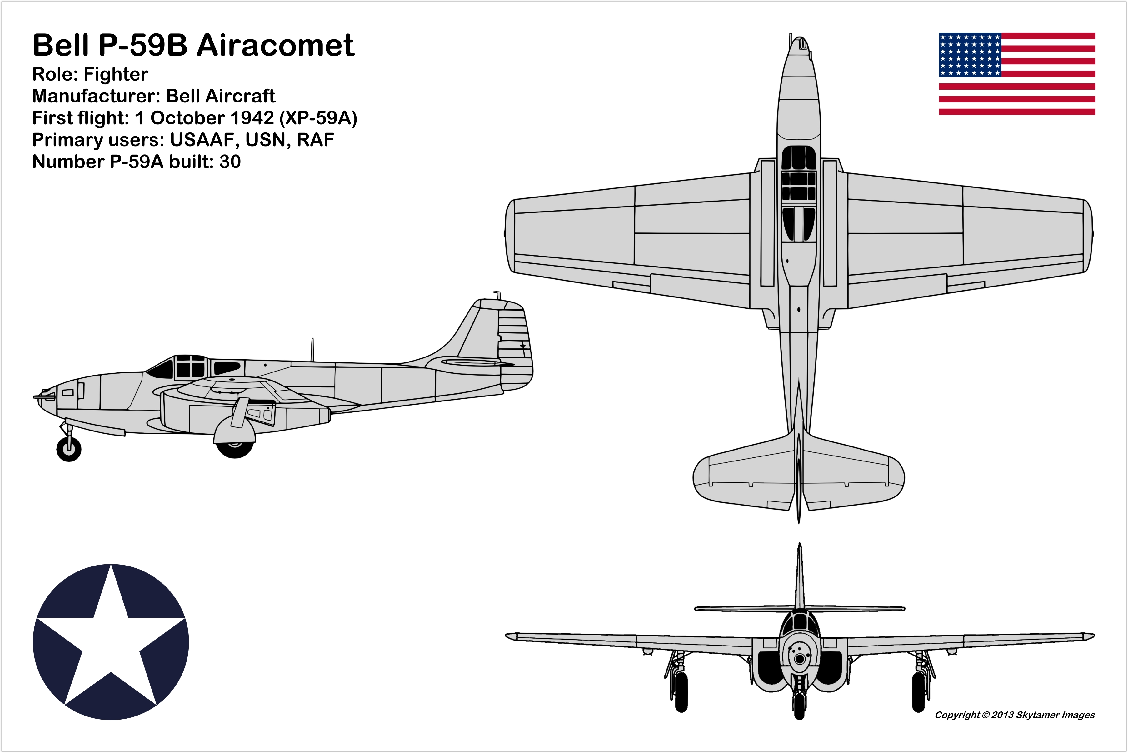 3 View Aircraft Drawings